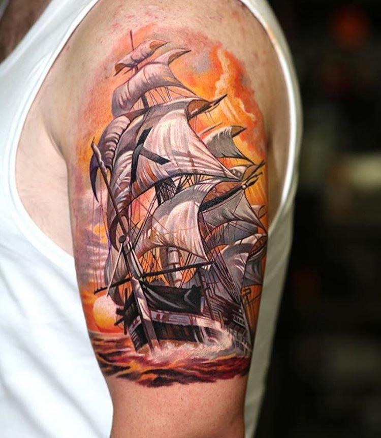 фото татуировок корабль вам приготовить