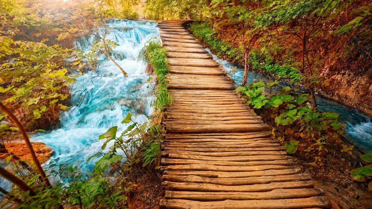 Картинка с пейзажем природы, про романтику