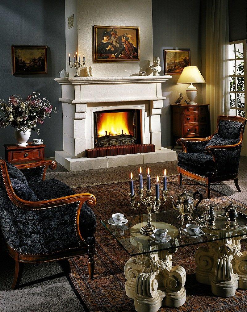 Стоит отметить, что гостиная в английском стиле выглядит очень строго и элегантно.
