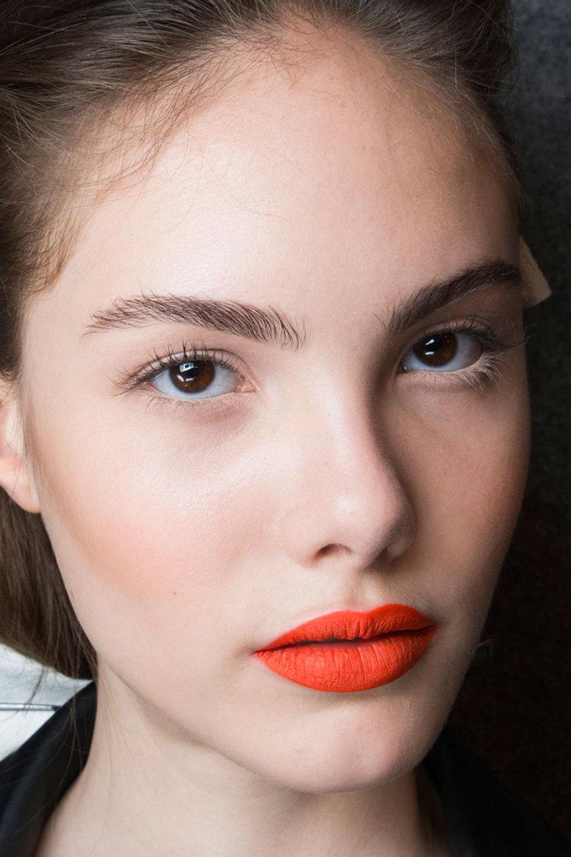Велюровый эффект на губах