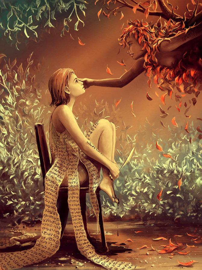 листья сюрреалистические картинки о любви кликните