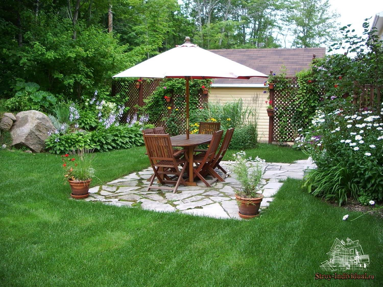 Как сделать двор красивым фото 42