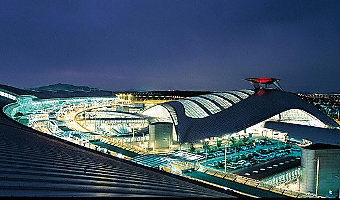 Международный Аэропорт Incheon, Южная Корея