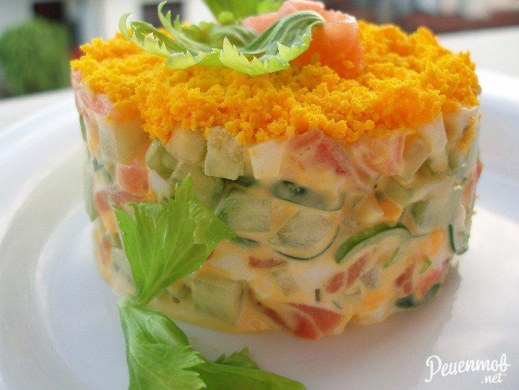 салаты из семги слабосоленой рецепты с фото ремесленник