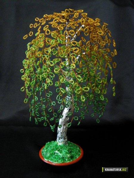 Поделки из пластиковых бутылок: Дерево счастья 45