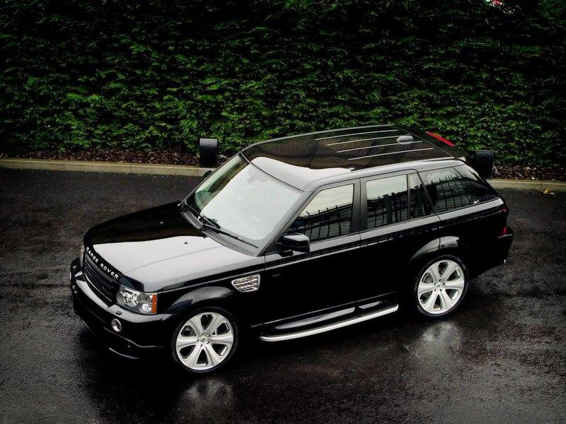 Land Rover роскошь