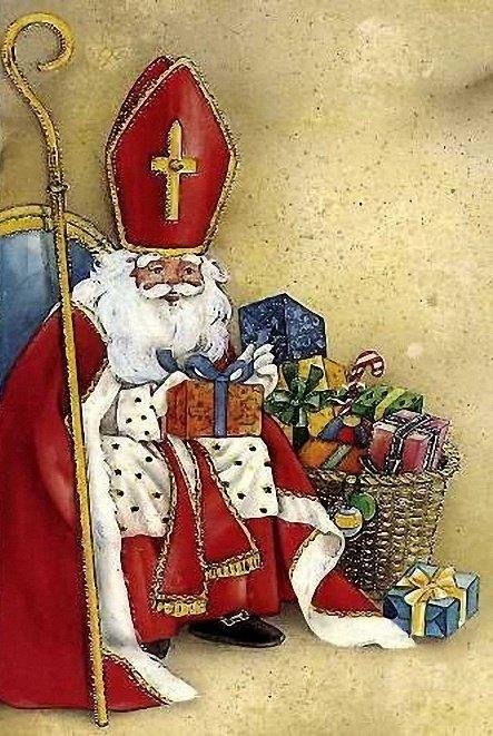 Дед мороз германия открытка, выздоравливай друзьям открытки
