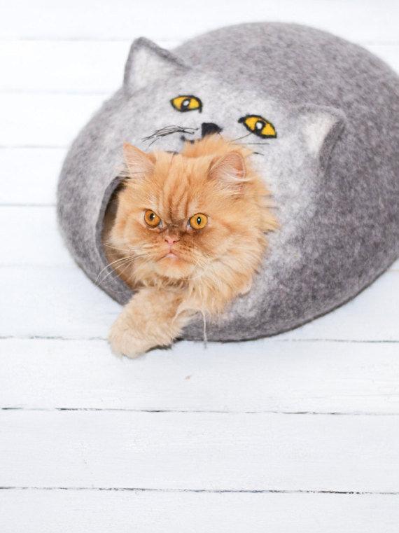 Домик для кота ручной работы