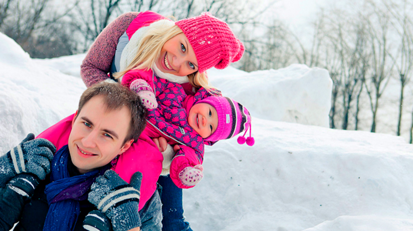 фотосессия семьей на улице зимой идеи фото где