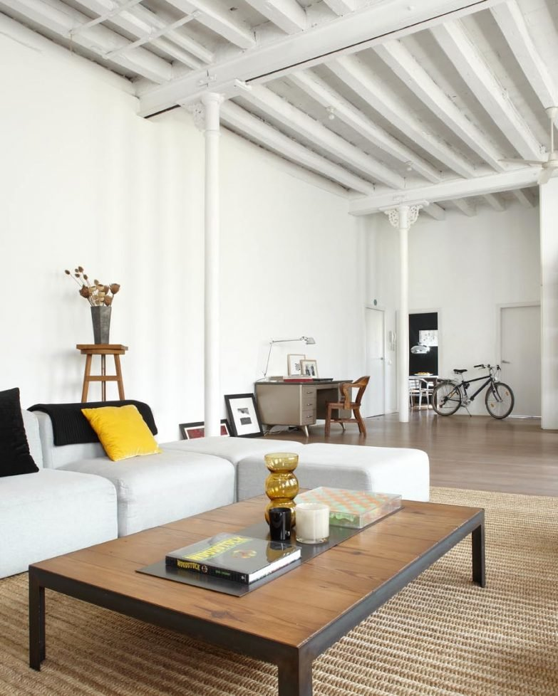 Contemporary New York Style Loft designed by Shoot 115 located in ...