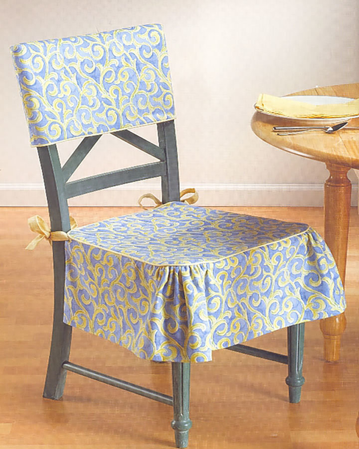 Сшить своими руками накидку для стула