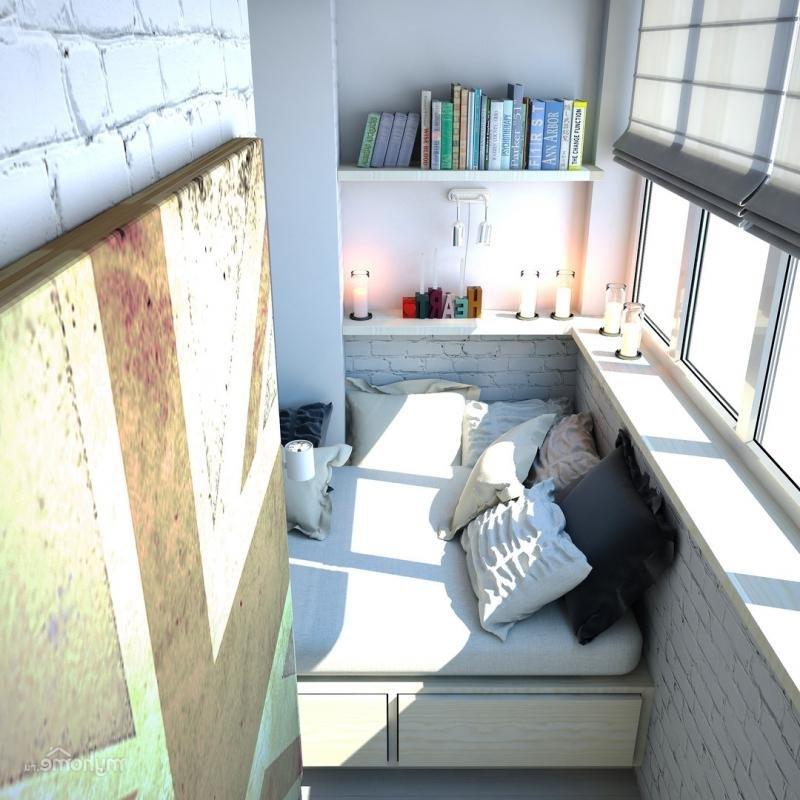 """Уютная светлая спальня на балконе."""" - карточка пользователя ."""