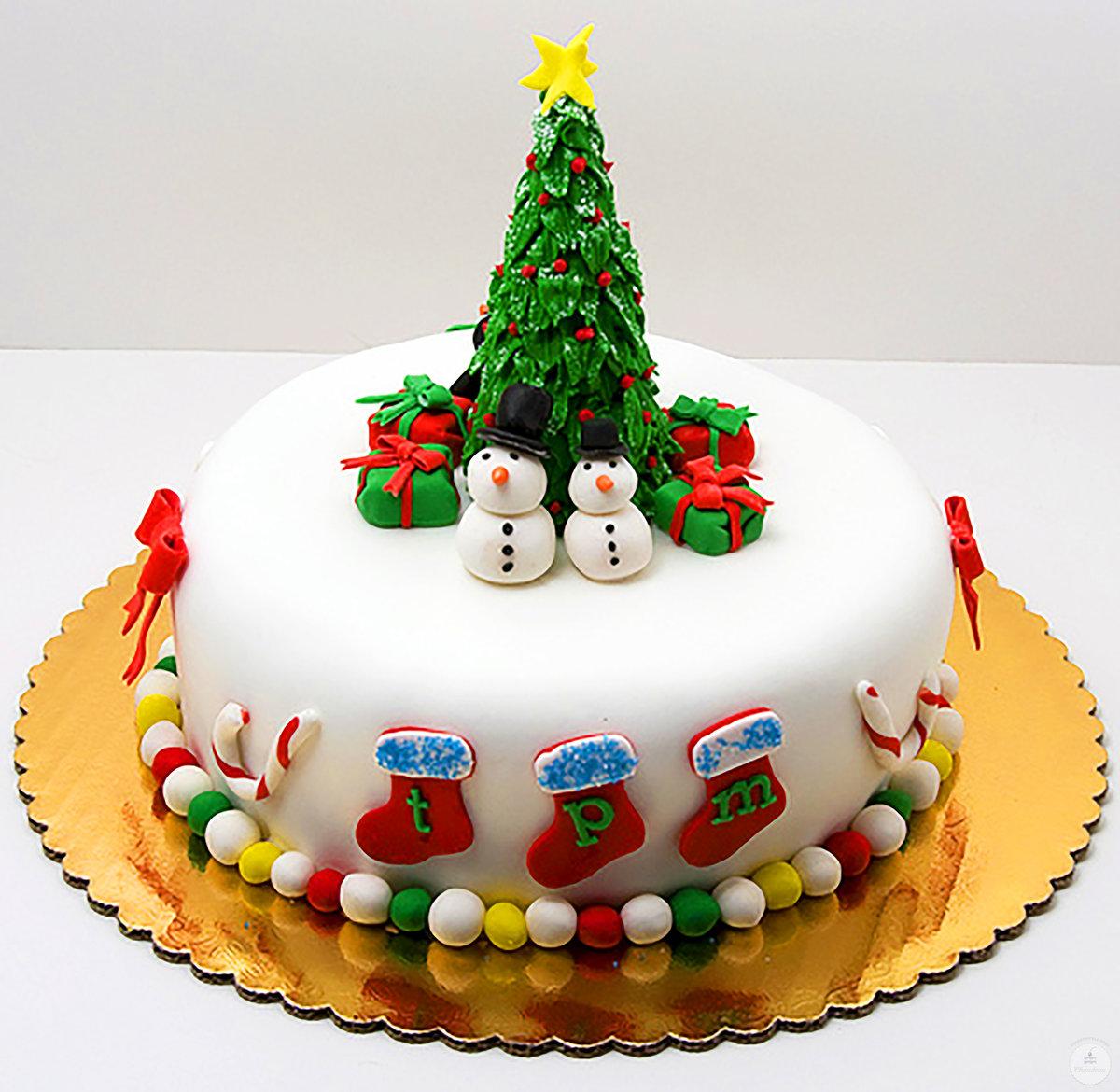 вообще торт с новым годом картинки день рождения шуточные