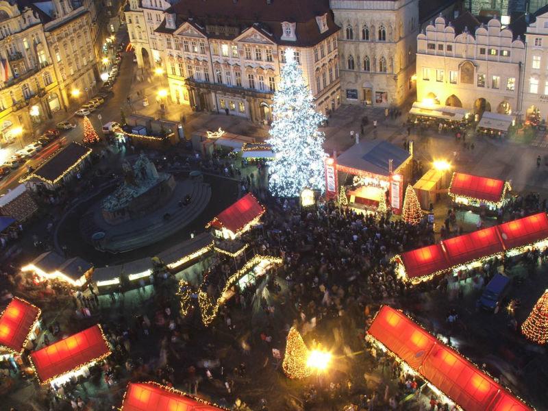 Встреча Нового года в Праге.