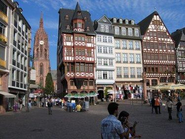 площадь ремерберг во франкфурте на майне
