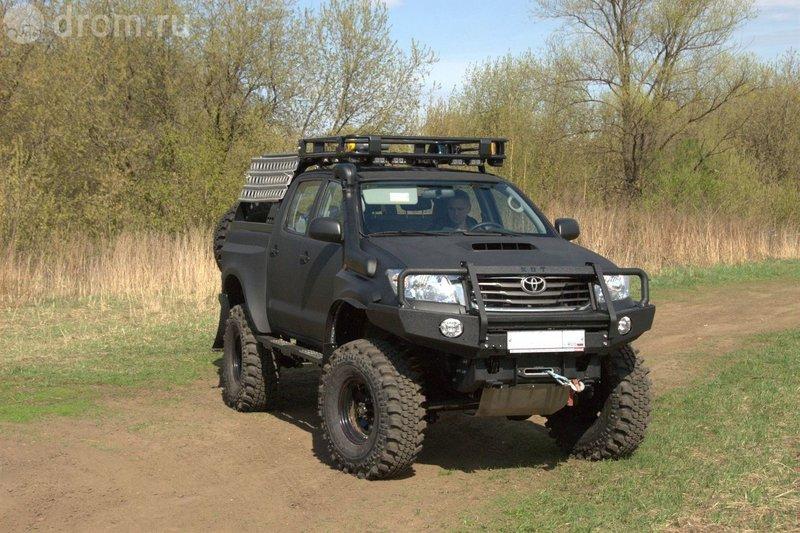 Toyota Hilux тюнинг для бездорожья