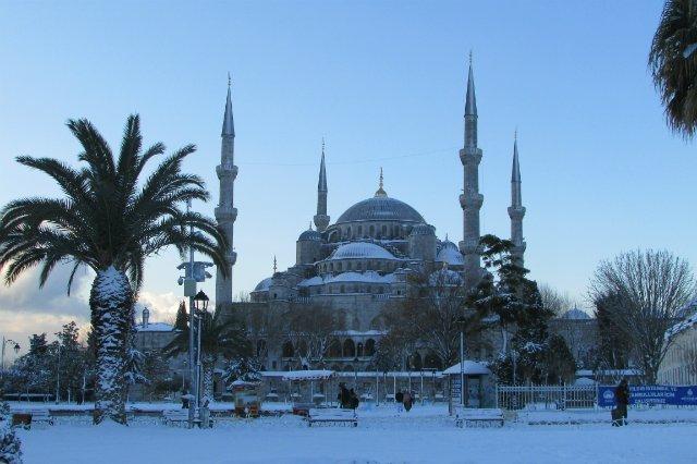 Голубая мечеть и Святая София