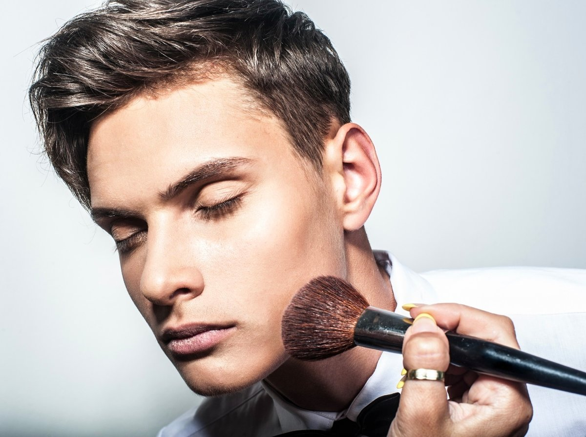 фотосессия для мужчин макияж москва сокуи