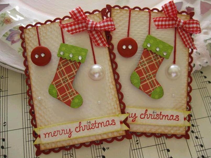 идеи к рождественской открытке миллионов считает