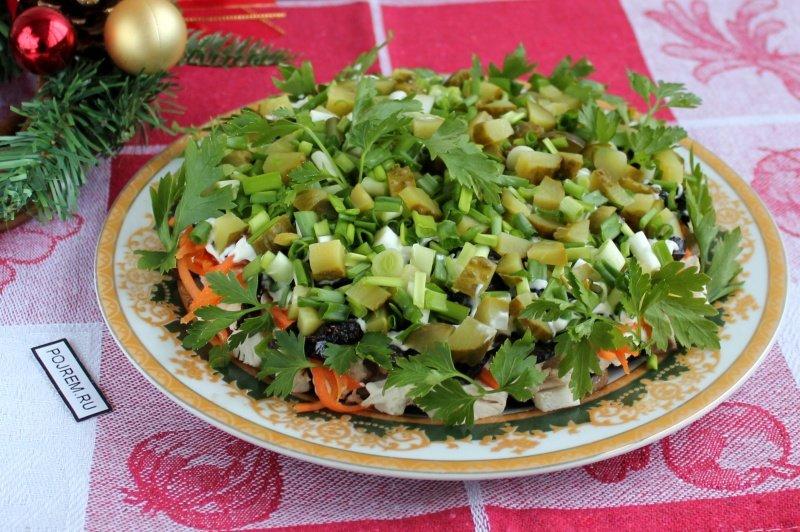 Смешанные салаты рецепты с фото