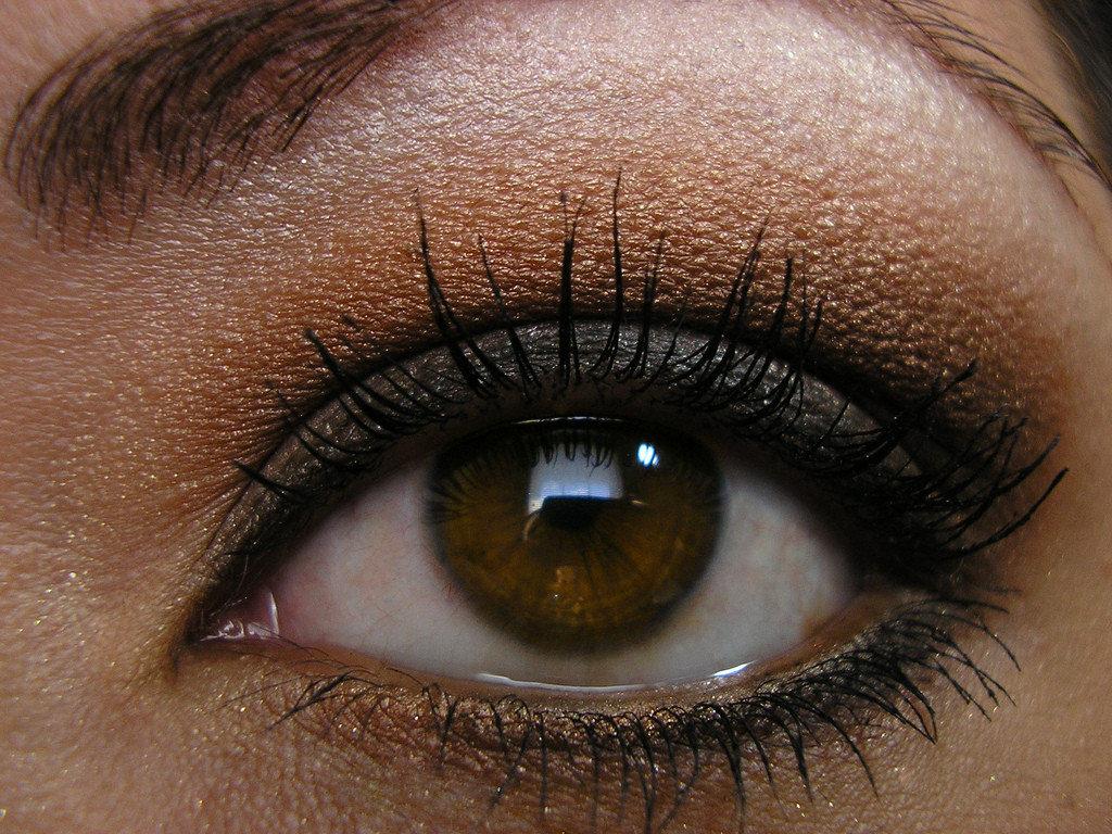 макияж в картинках коричневые тени есть еще одно
