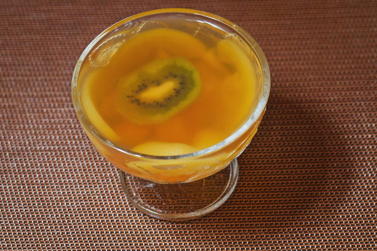под желе из фруктового пюре рецепт с фото вся