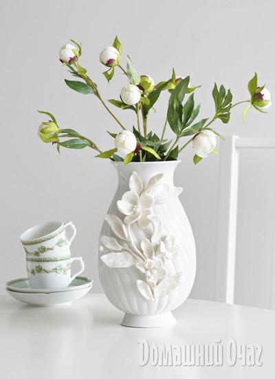 Холодный фарфор ваза своими руками из 220