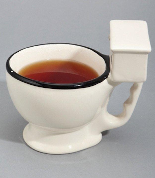 Картинки прикольные кружка чая
