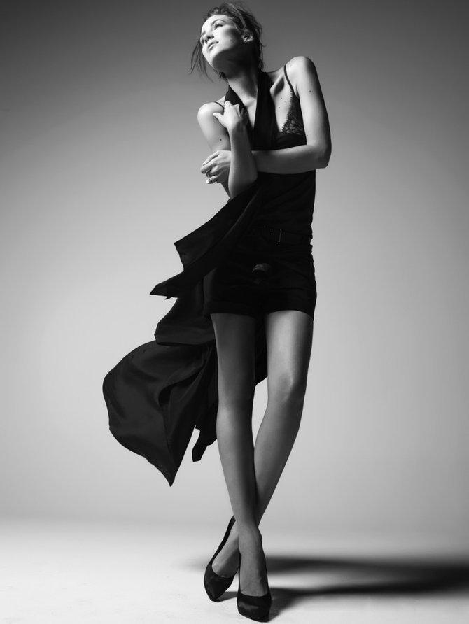 черно белые фото поз - 6
