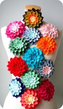 Простые поделки из цветов 92