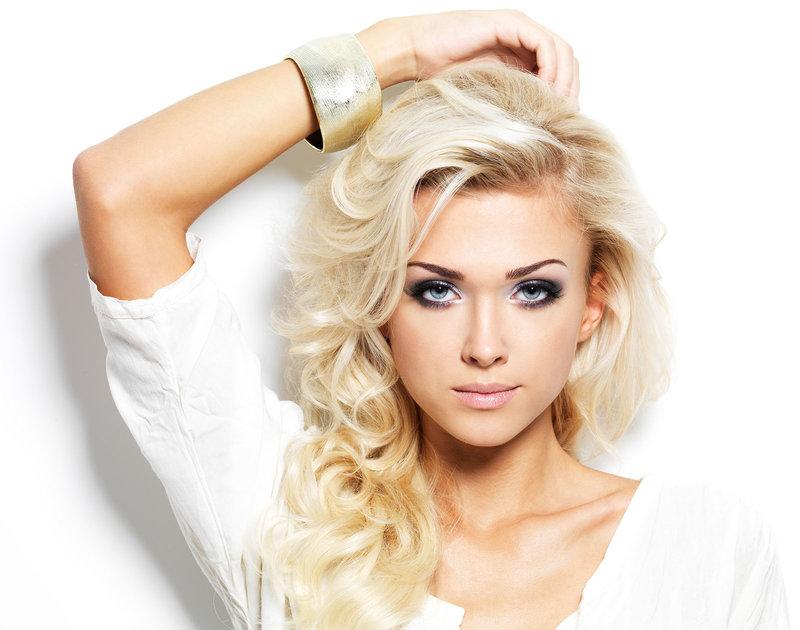 причёски блондинки фото