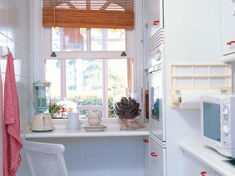 Идеи для маленькой кухни - 7 фото.