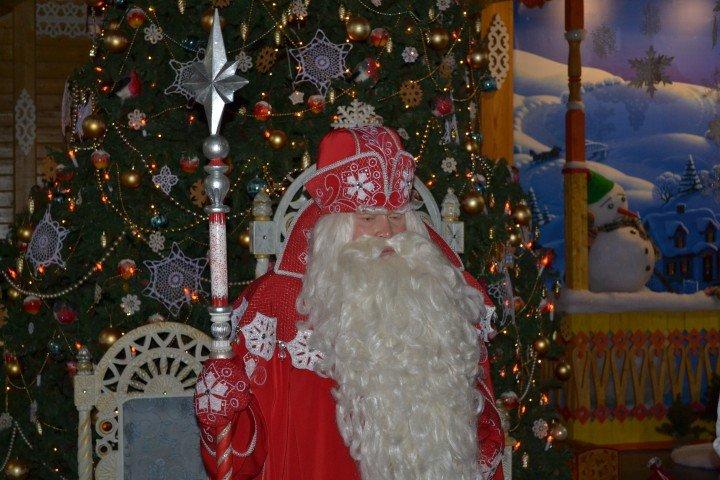 Дед Мороз красивый