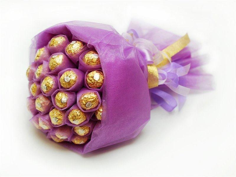 Старых, букеты с конфетами своими руками фото простые