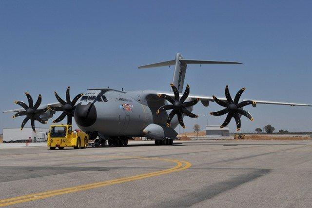 транспортный самолет A400M