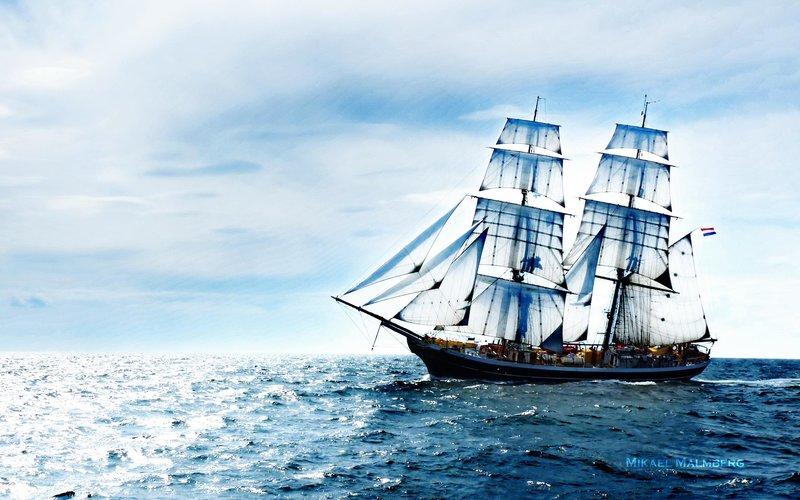 море картинки и корабль
