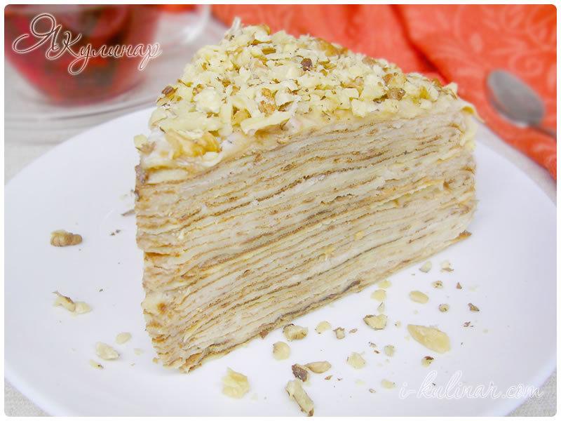 стенах этой торт со сметаным кремом исбонаном стонут при