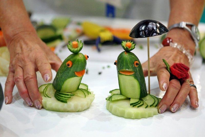 Поделки из овощей своими руками в садик