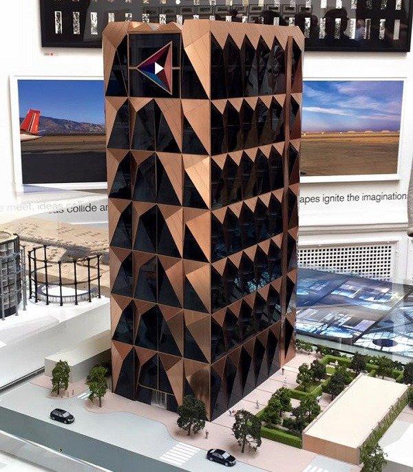 В Екатеринбурге согласован проект знаменитого архитектора Нормана Фостера по строительству штаб-квартиры РМК.