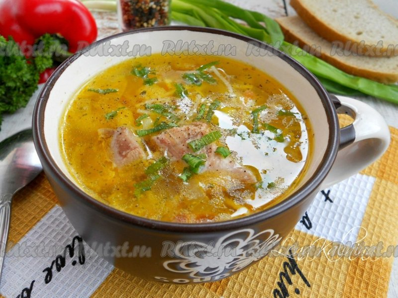 как готовить вермишелевый суп с курицей