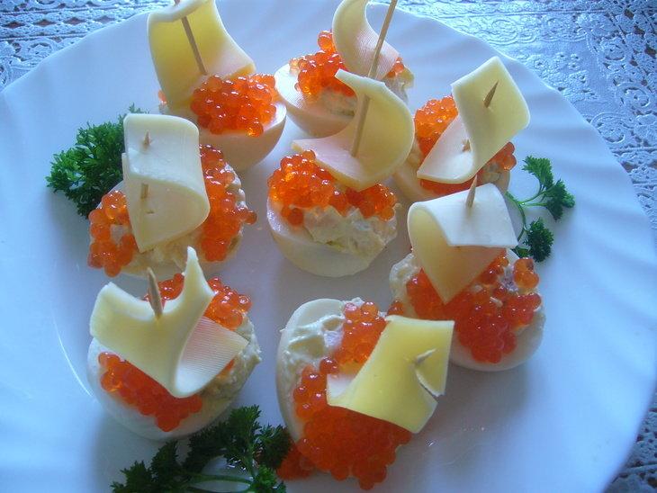 закуски на зубочистках рецепты с фото