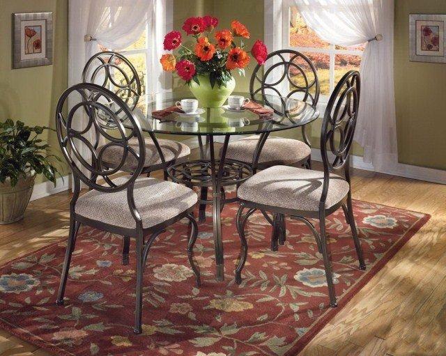 Образцы работ кованых столов и стульев, кованые изделия в об.