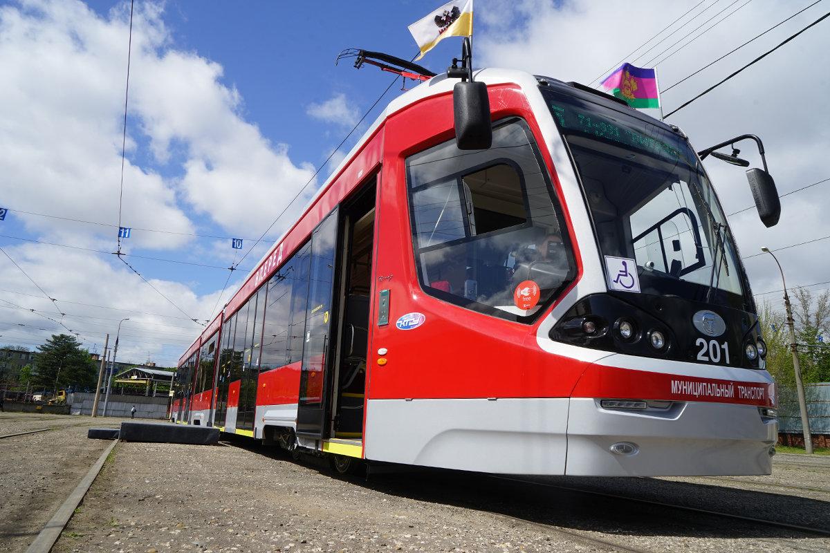 Картинки трамваи в краснодаре