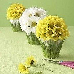 Поделки цветы из подручных средств 154