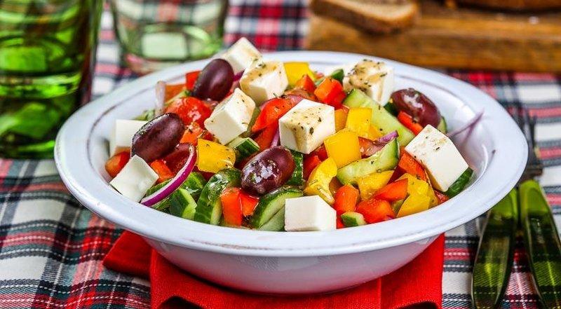 Греческий салат рецепт с фото россия