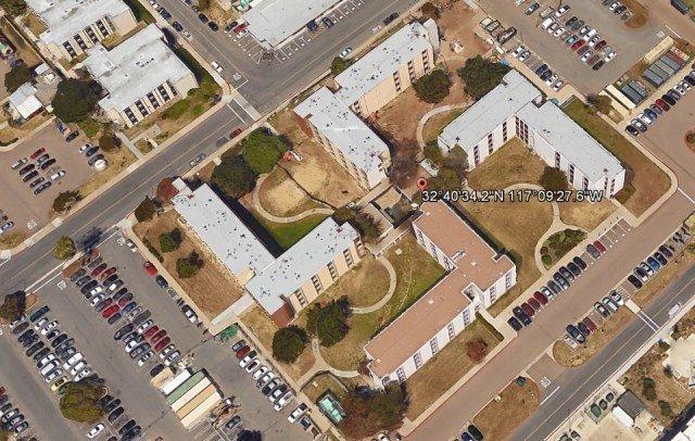 Дом в виде свастики (32°40'34.19″N 117° 9'27.58″W) Коронадо, Калифорния, США