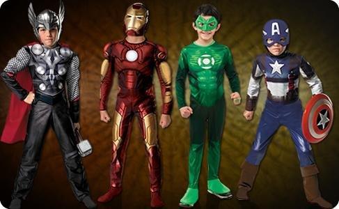 костюмы супергероев картинки