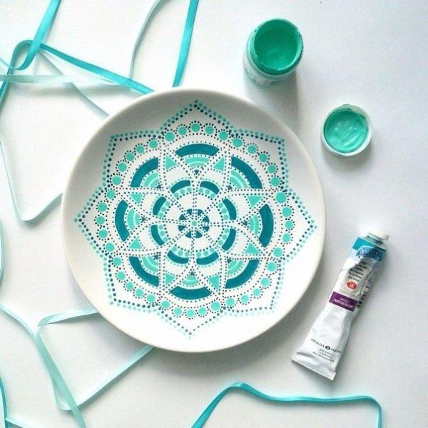 декор тарелки / Мода / идеи / Pinme.ru