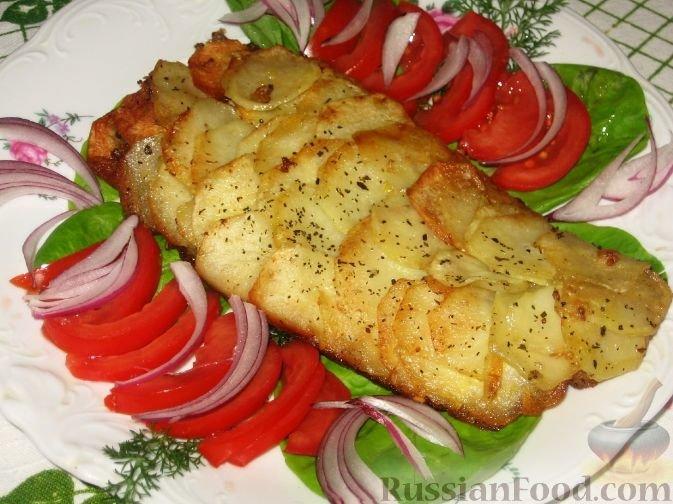 Блюда из белой рыбы в духовке