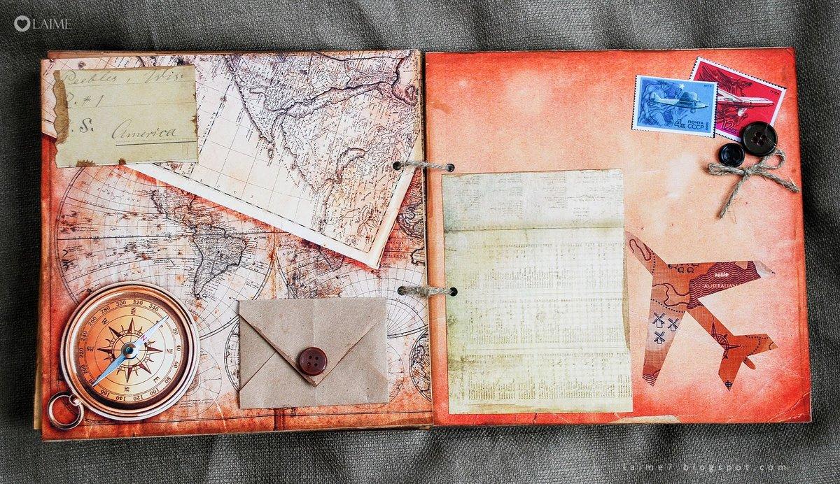 День, открытка про путешествия ручная работа